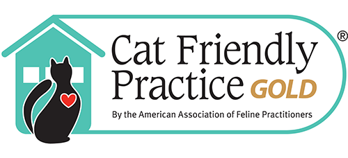 Cat Friendly Practice Gold by the American Association for Feline Practitioners